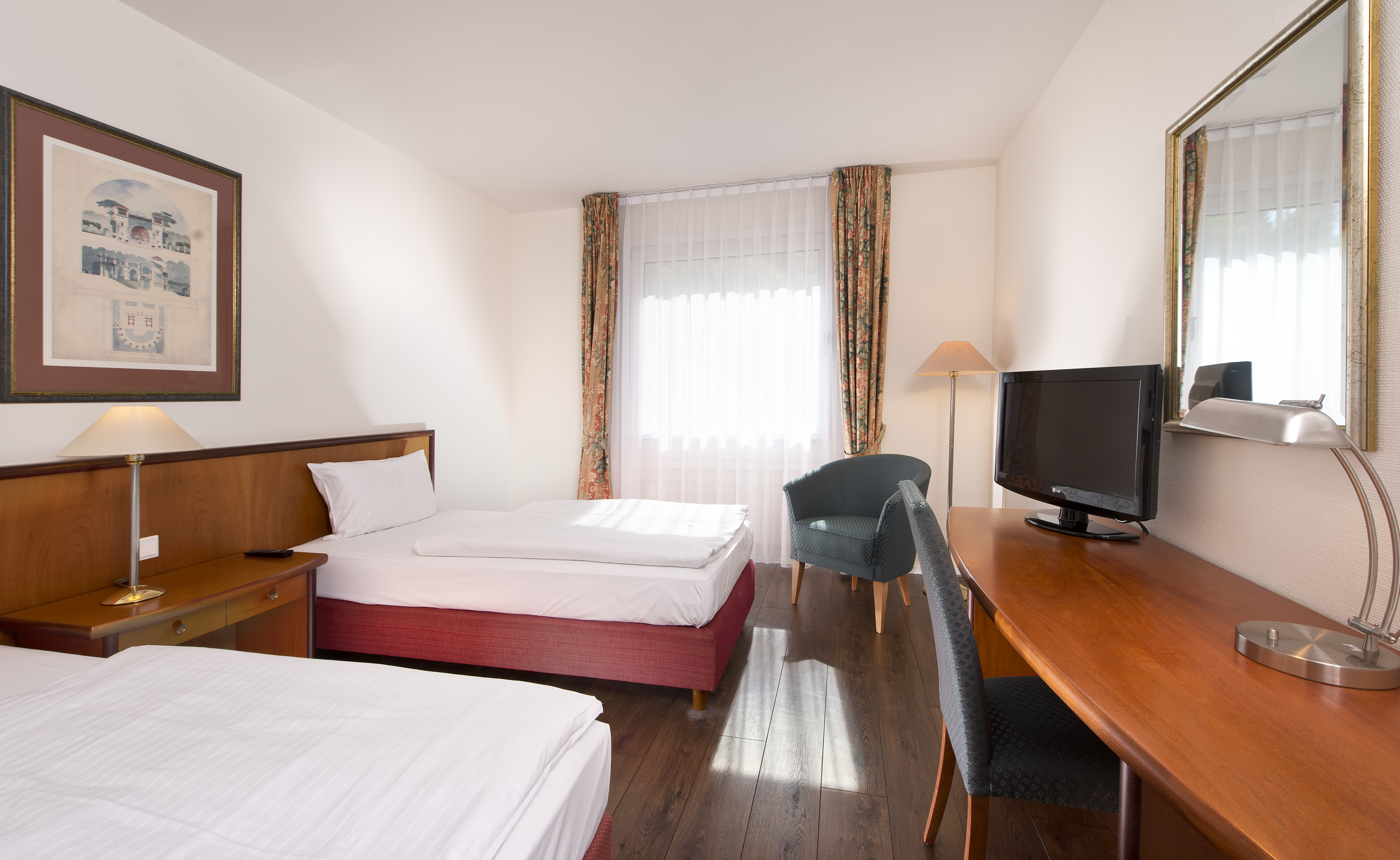 Business Room With Twin Beds In Wyndham Garden Hotel Hennigsdorf | ©  Wyndham Garden Hennigsdorf Berlin ...